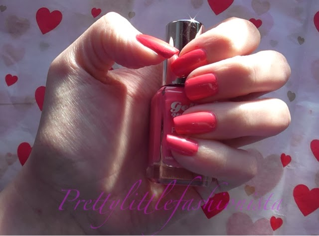 Barry M Gelly Hi Shine in Grapefruit