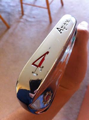 Ben Hogan Apex 4-iron