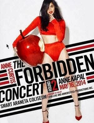 Anne Curtis Live in Smart Araneta 2014 Ticket Prices