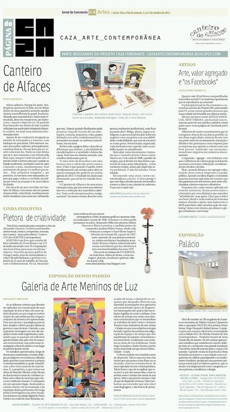 Página da Caza - 05 de Outubro de 2012