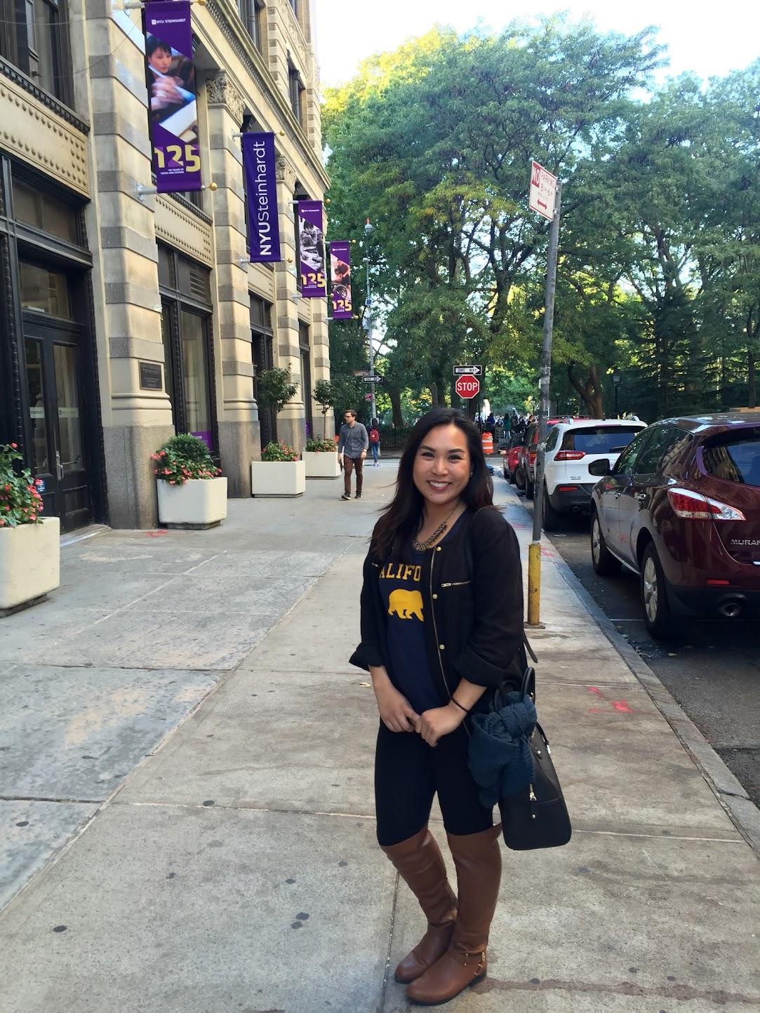 Outside of NYU Steinhardt