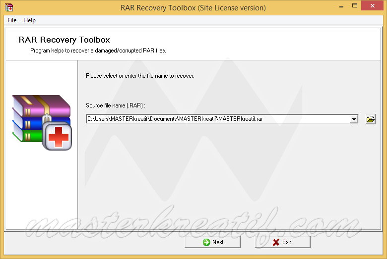 RAR Recovery Toolbox
