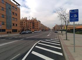 Nuevos carriles bici en Montecarmelo - marzo de 2014