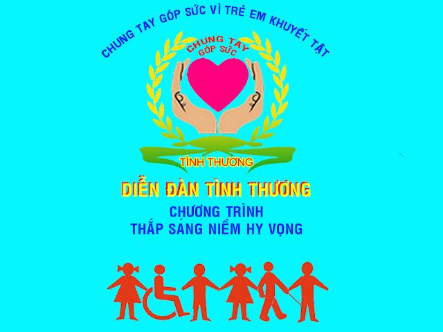 """Kế hoạch chương trình """"Thắp sáng niềm hy vọng"""" Logo"""