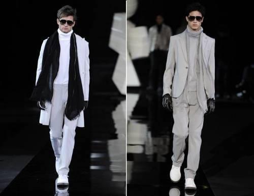 Clássicos - Emporio Armani Semana de Moda Milão Outono Inverno 2011