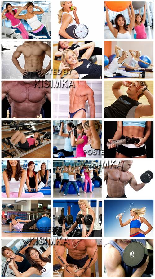 Stock Photo: Sports and fitness