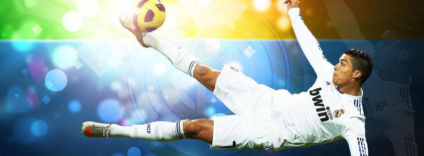 Cristiano Ronaldo 2012 facebook cover
