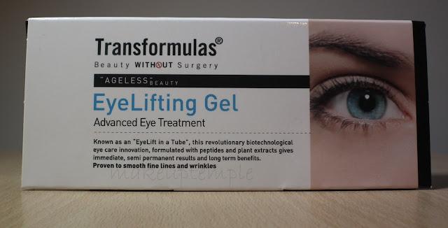 Transformulas Eye Lifting Gel Review