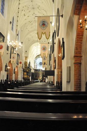 Bazylika Mariacka教堂內部