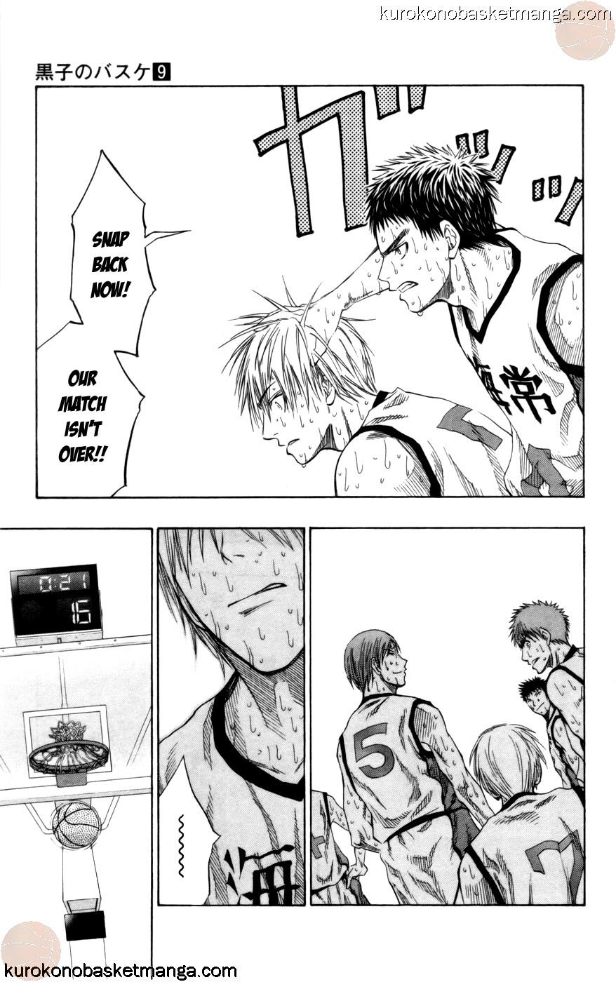 Kuroko no Basket Manga Chapter 72 - Image 15