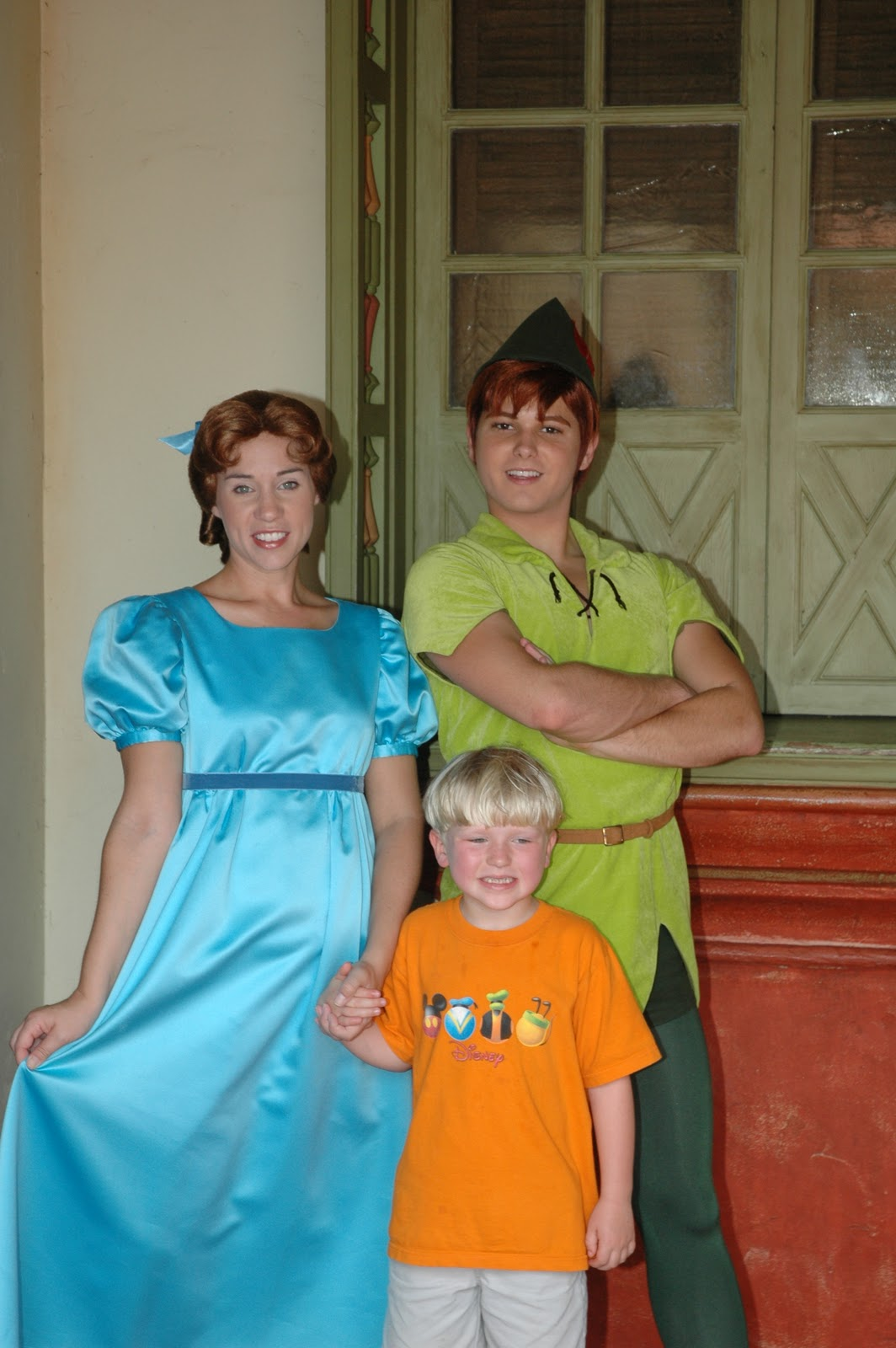 Williams family meeting characters from peter pan meeting characters from peter pan can be quite fun and a bit of a challenge the first place i would go to find them is the magic kingdom kristyandbryce Image collections