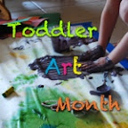 Little Homestead in the Desert - Toddler Art Month