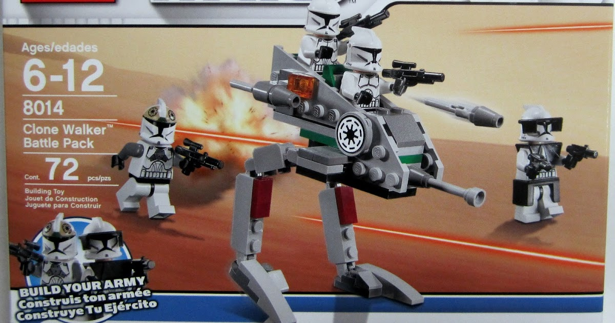 The Brick Brown Fox Lego 8014 Clone Walker Battle Pack