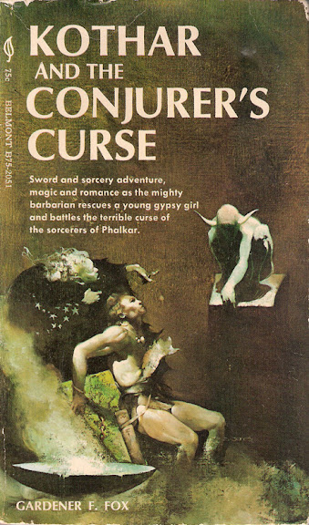 Kothar and the Conjurer's Curse cover