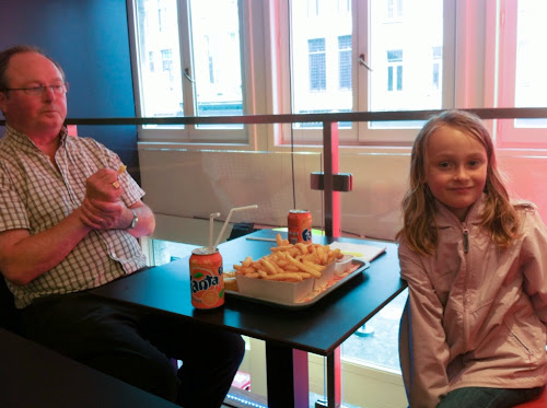 Frites à Anvers