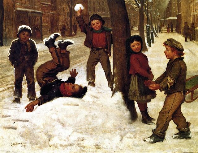 John George Brown - Winter Games