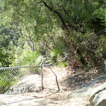 fenced off rock shelf (6217)