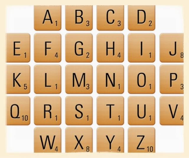 Sopa de letras amakuyi detalles hechos con tiempo y - Letras scrabble pared ...
