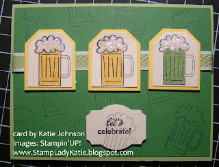 stamp sets: Cheers to You and Its Your Birthday
