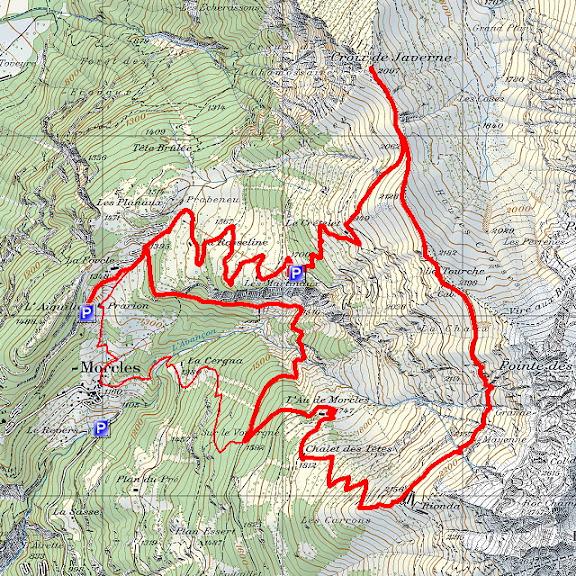 Karte SwissTopo