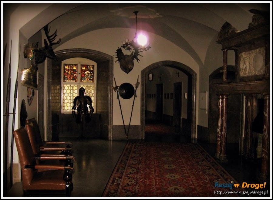 zamek czocha - sala rycerska