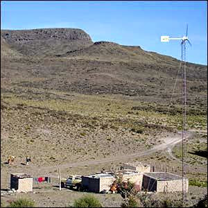 Alternative Energy Argentina Bringing Wind Power To Remote Areas Image