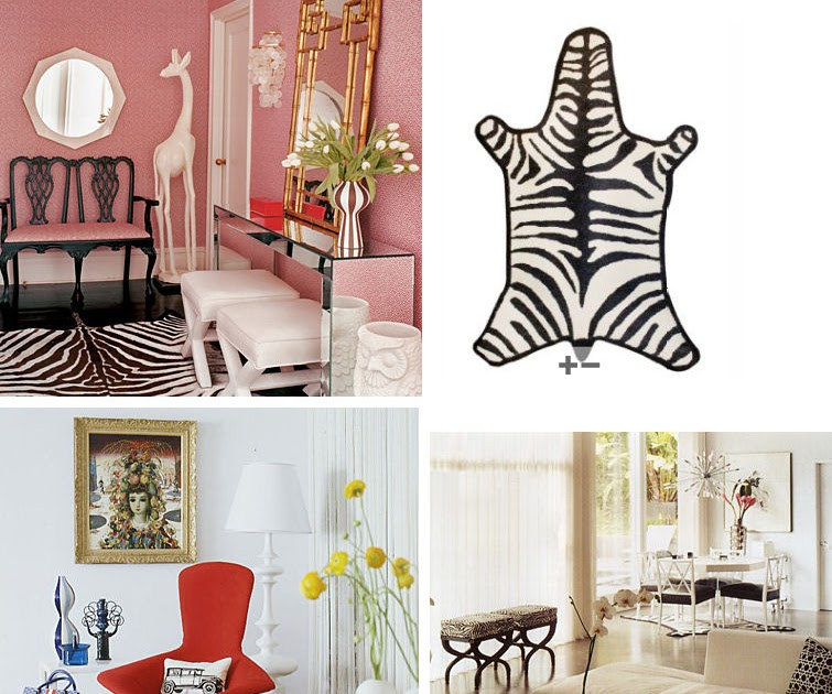 Chic and Cheap Lifestyle: DIY Zebra Hide HTM Alfombra En ...