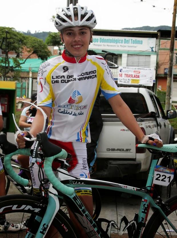 Claudia Castaño. La caldense de la Liga de Cundinamarca, ocupó el tercer lugar en el Campeonato Nacional de Ruta este año. Subcampeona de la Copa Georgia en Atlanta, Estados Unidos.
