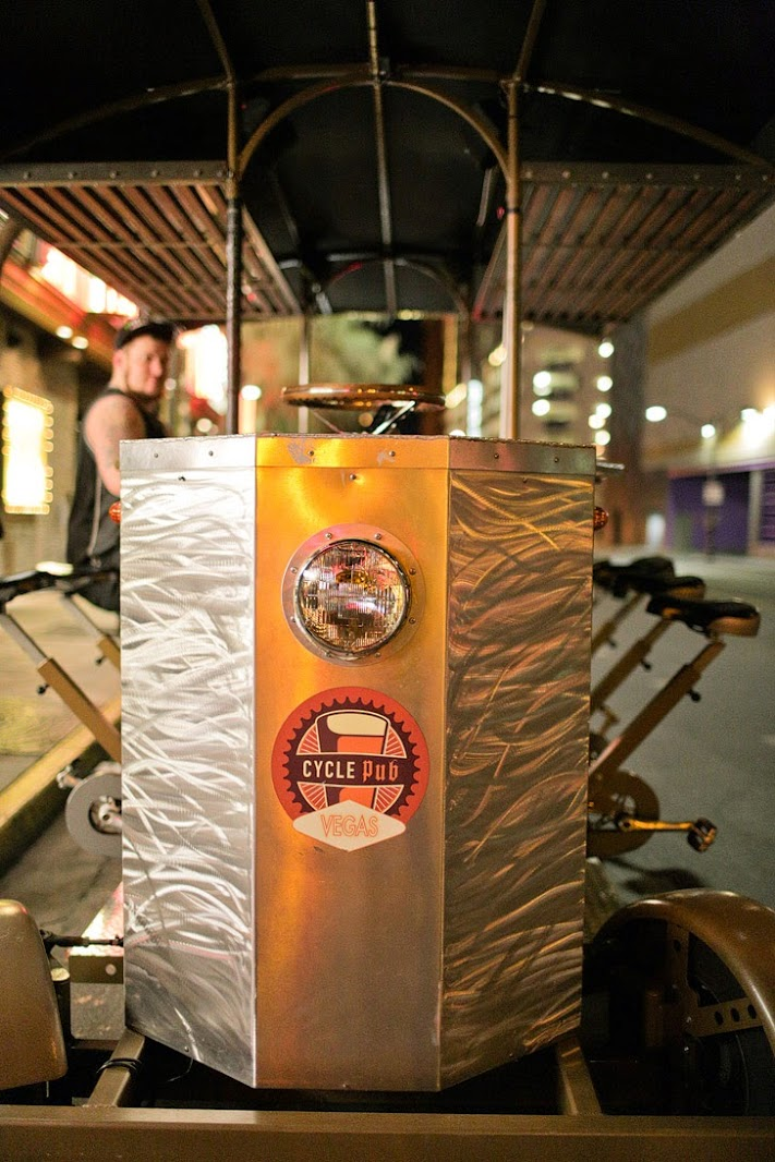 Best Bars in Downtown Las Vegas with Cycle Pub Vegas.