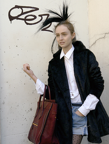 Ann Demeulemeester,modemajeure,streetstyle