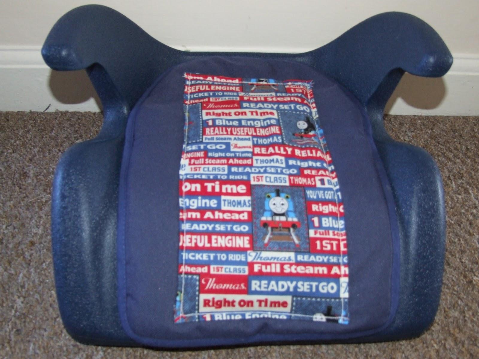 sewing diva thomas tank engine car seat