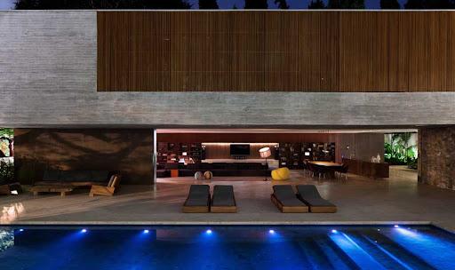 Casa dos Ipês Sao Paulo, design by studio mk27 – marcio kogan + lair reis