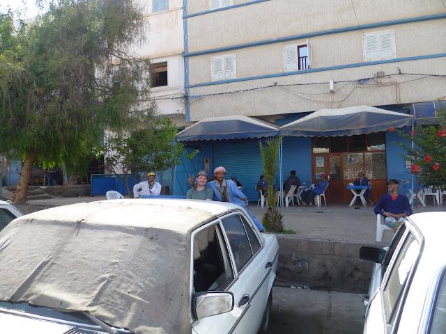 Grand Taxis at Sidi Ifni