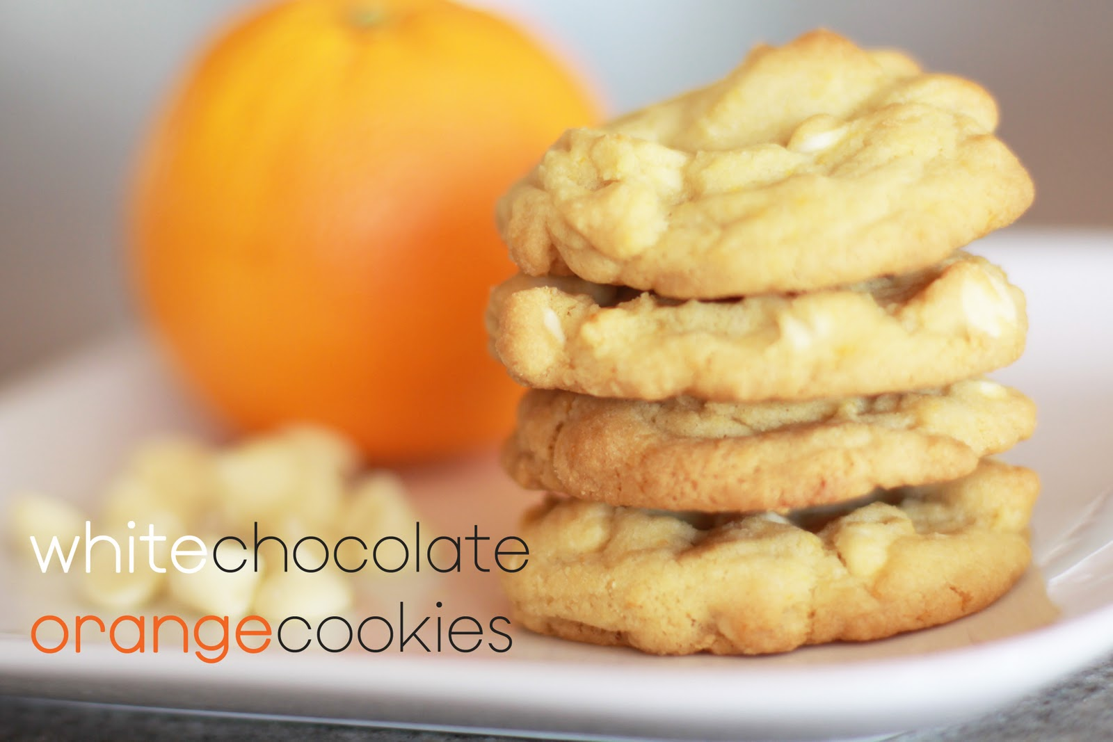 White Chocolate Orange Cookies - landeelu.com