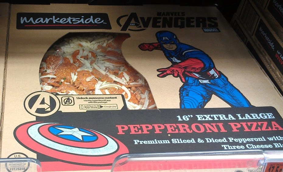 Avengers' Marketside Pizza #MarvelAvengersWMT