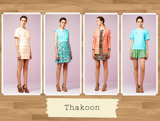 Thakoon Resort Wear 2013
