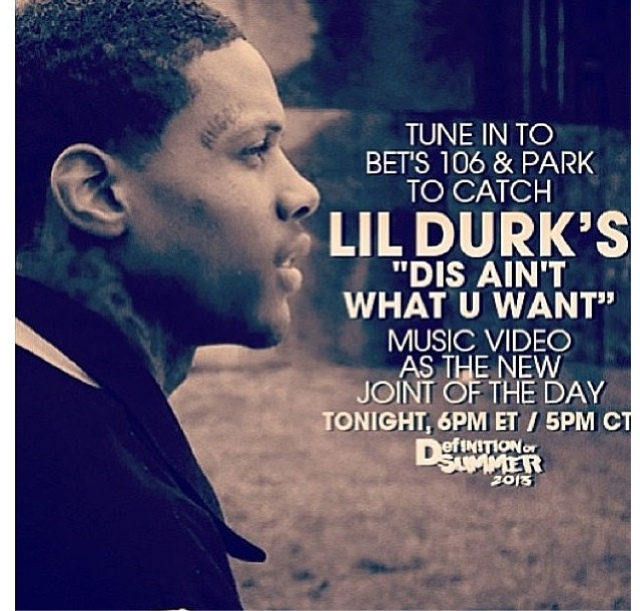 straight from da chi lil durks dis aint what you want