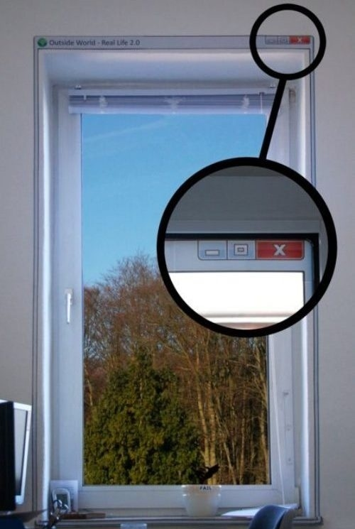 Windows Wall Sticker