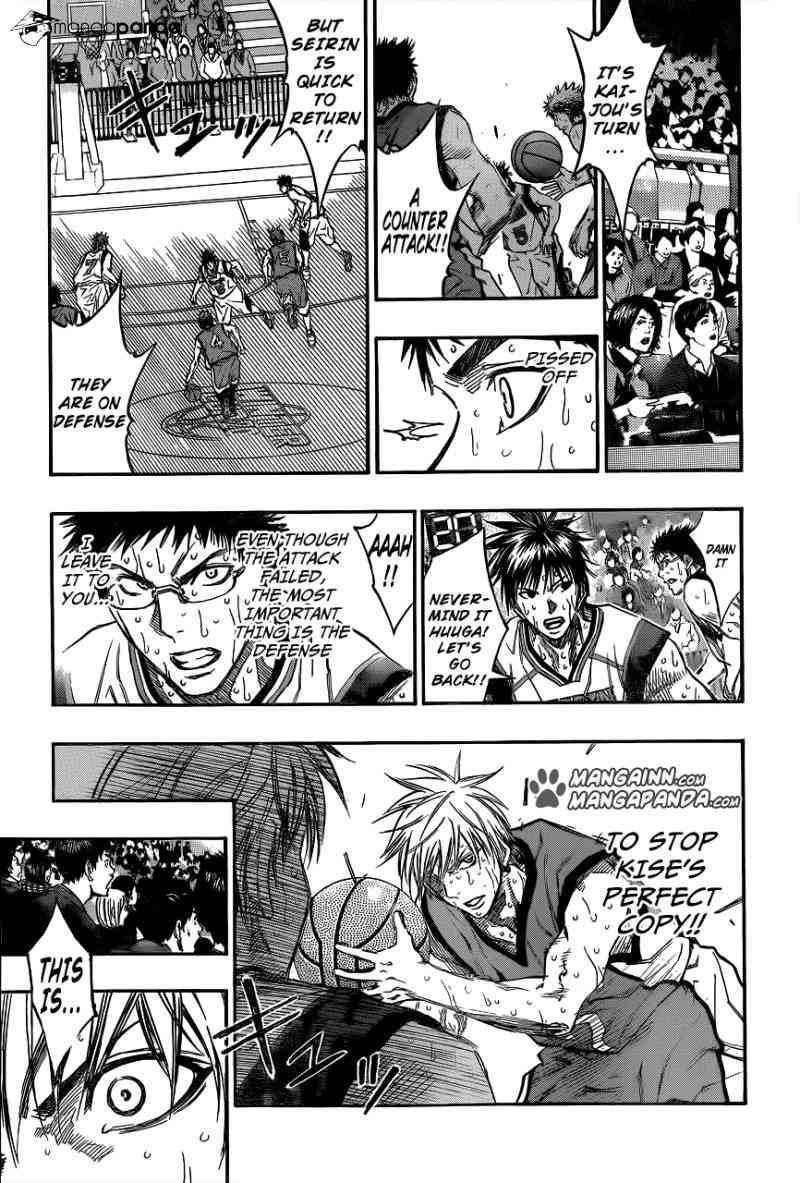 Kuroko no Basket Manga Chapter 197 - Image 09