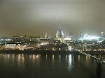 Londres: Tamise depuis le resto du Tate
