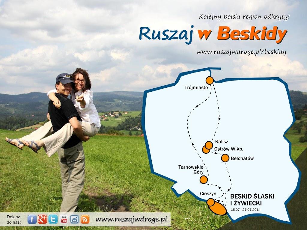 Ruszaj w Drogę, w Beskidy - rozpoczynamy kolejny polski przewodnik