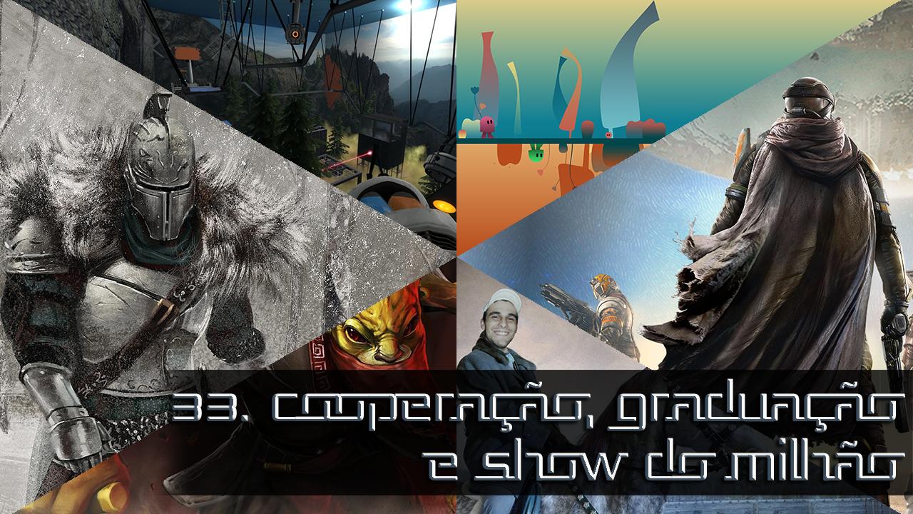 E33 - Cooperação, Graduação e Show do Milhão Capa