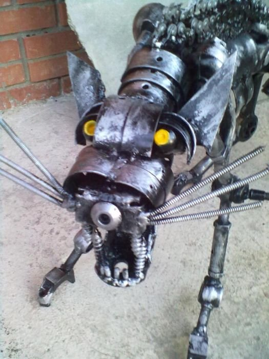 Amazing Steampunk Cat Seen On www.coolpicturegallery.us