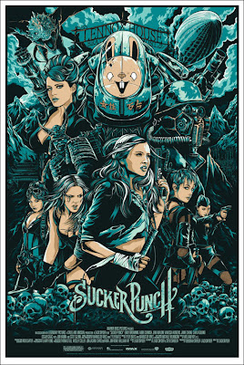 Mondo - Sucker Punch Standard Edition Screen Print by Ken Taylor