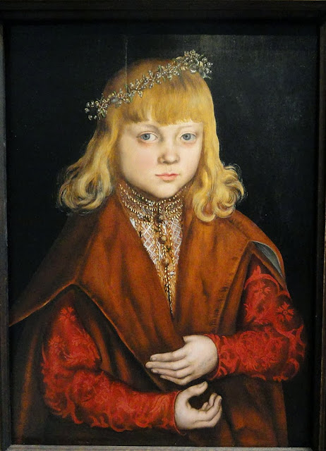 Lucas Cranach the Elder - A Prince of Saxony, c. 1517