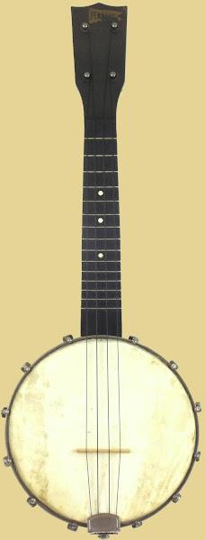 Globe made BL&F Pennant banjolele banjo ukulele corner