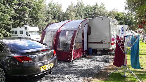 Hawes Caravan Club Site at Hawes Caravan Club Site