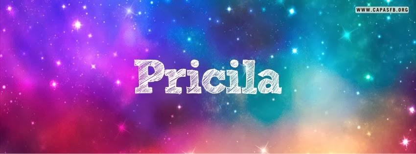 Capas para Facebook Pricila
