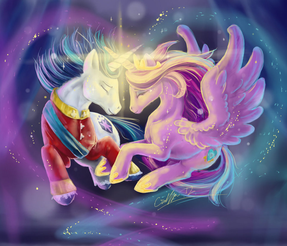 Equestria daily mlp stuff shining armor and princess - My little pony cadence ...