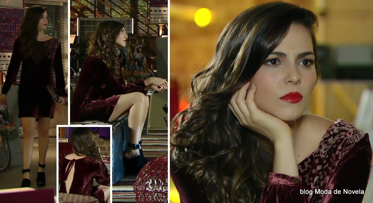 moda da novela Em Família - look da Marina dia 23 de junho